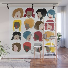 Harry the Hairdresser Wall Mural