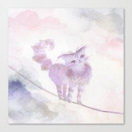 Varo Tiptoe Sky Canvas Print