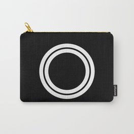 Minimal White 10 Carry-All Pouch