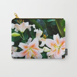 lilies and leaves Carry-All Pouch