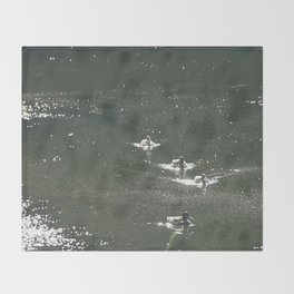 ducks two Throw Blanket
