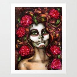 Victoria Rose Art Print
