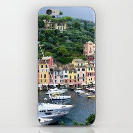 Portofino Harbour Italy iPhone Skin