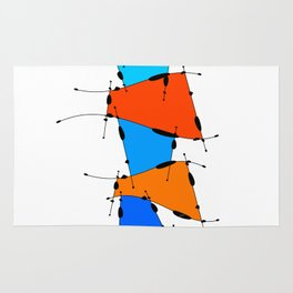 Sanomessia - melting cubes Rug