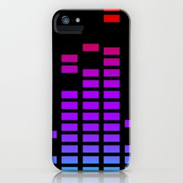 Equalizer bars in RGP iPhone Case