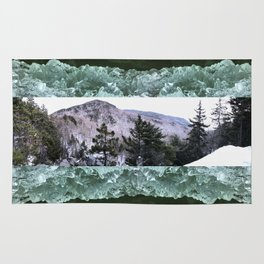 Wondrous Winter Scene Rug