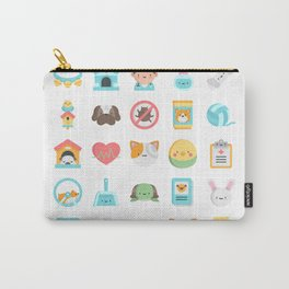 CUTE VET / VETERINARIAN PATTERN Carry-All Pouch