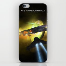 We Have Contact - Portrait 01 iPhone Skin