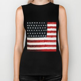 USA Flag ~ American Flag ~ Ginkelmier Inspired Biker Tank