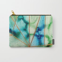 """""""Geo Ocean"""" Carry-All Pouch"""