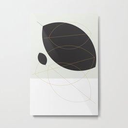 Shape and Form Metal Print