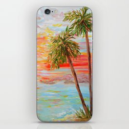 California Coast Sunset iPhone Skin