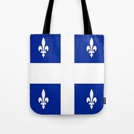 Flag of Quebec Tote Bag
