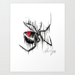 The Silent Killer Art Print