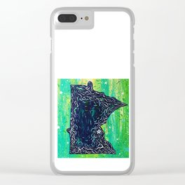 North Star Minnesota Clear iPhone Case