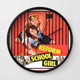 Reform School Girls Wall Clock