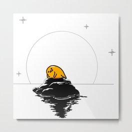 Lazy Egg Sexy as He11 Metal Print