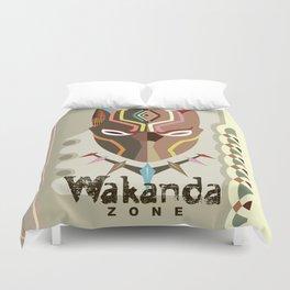 Wakanda Zone Duvet Cover
