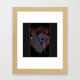 Skull (Thanatos) Framed Art Print
