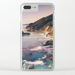 Big Sur Pacific Coast Highway Clear iPhone Case