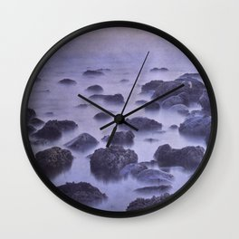 The sleep of stone islands Wall Clock