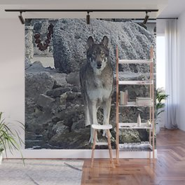 Dog German Shepherd Wall Mural