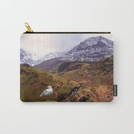 Mount Snowdon, Wales. Carry-All Pouch