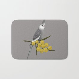 White Faced Cockatiel Bath Mat