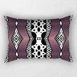 Purple Shimmer Rectangular Pillow