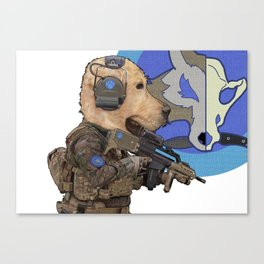 Jackal_special forces Canvas Print