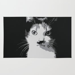 A Feline Mastermind Rug