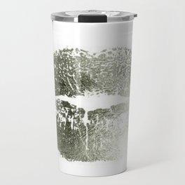 Lips Silver Travel Mug