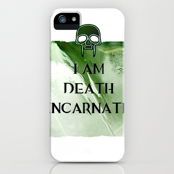 I am Death iPhone Case