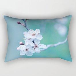 hope springs eternally green Rectangular Pillow