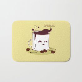 Coffee Mug Addicted To Coffee Bath Mat