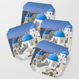 Santorini, Oia Village, Greece Coaster