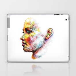 Head Pointed Out Laptop & iPad Skin