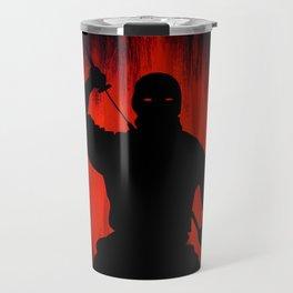 Ninja / Samurai Warrior Travel Mug
