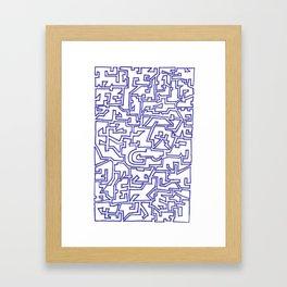Doodle 007 Framed Art Print
