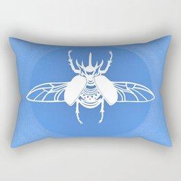Rhino Beetle Rectangular Pillow