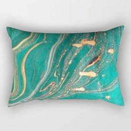 Ocean Gold Rectangular Pillow
