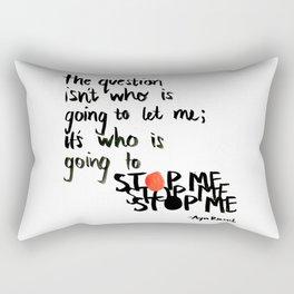 stop me Rectangular Pillow
