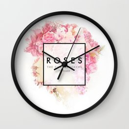 The Chainsmokers - Roses Wall Clock