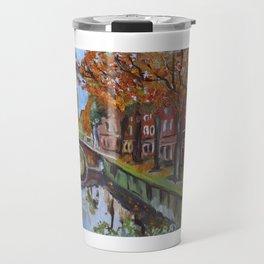 Bridge in Delft Travel Mug