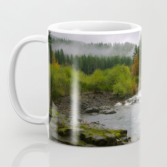 The Wilson River In The Tillamook National Forest Coffee Mug