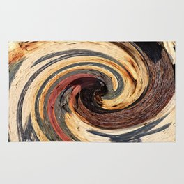 Swirl 07 - Colors of Rust / RostArt Rug