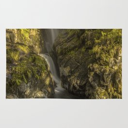Cumbrian Waterfall. Rug