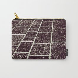 texture of the old stone paving Carry-All Pouch