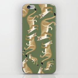 Caturday Puma iPhone Skin