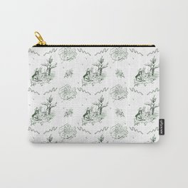 Slytherin Toile Carry-All Pouch